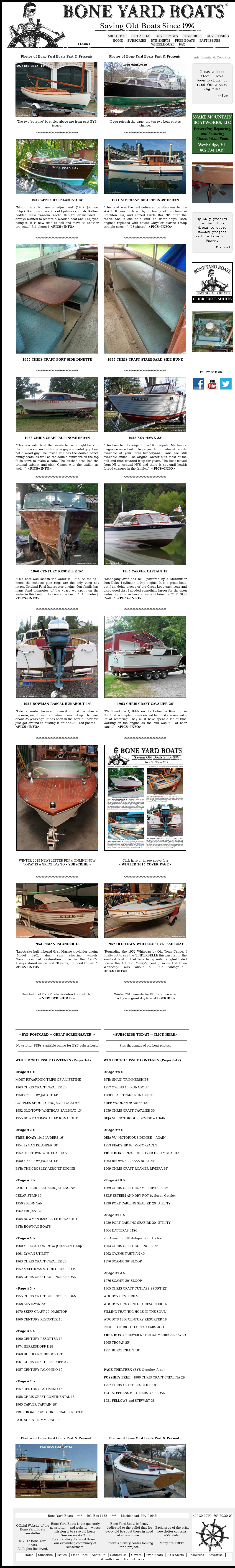 Bone Yard Boats Competitors, Revenue and Employees - Owler Company