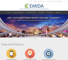 Emida website history