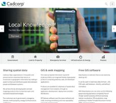 Cadcorp website history