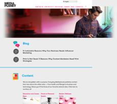 Mediaplanet website history