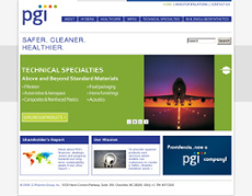 Polymer Group website history