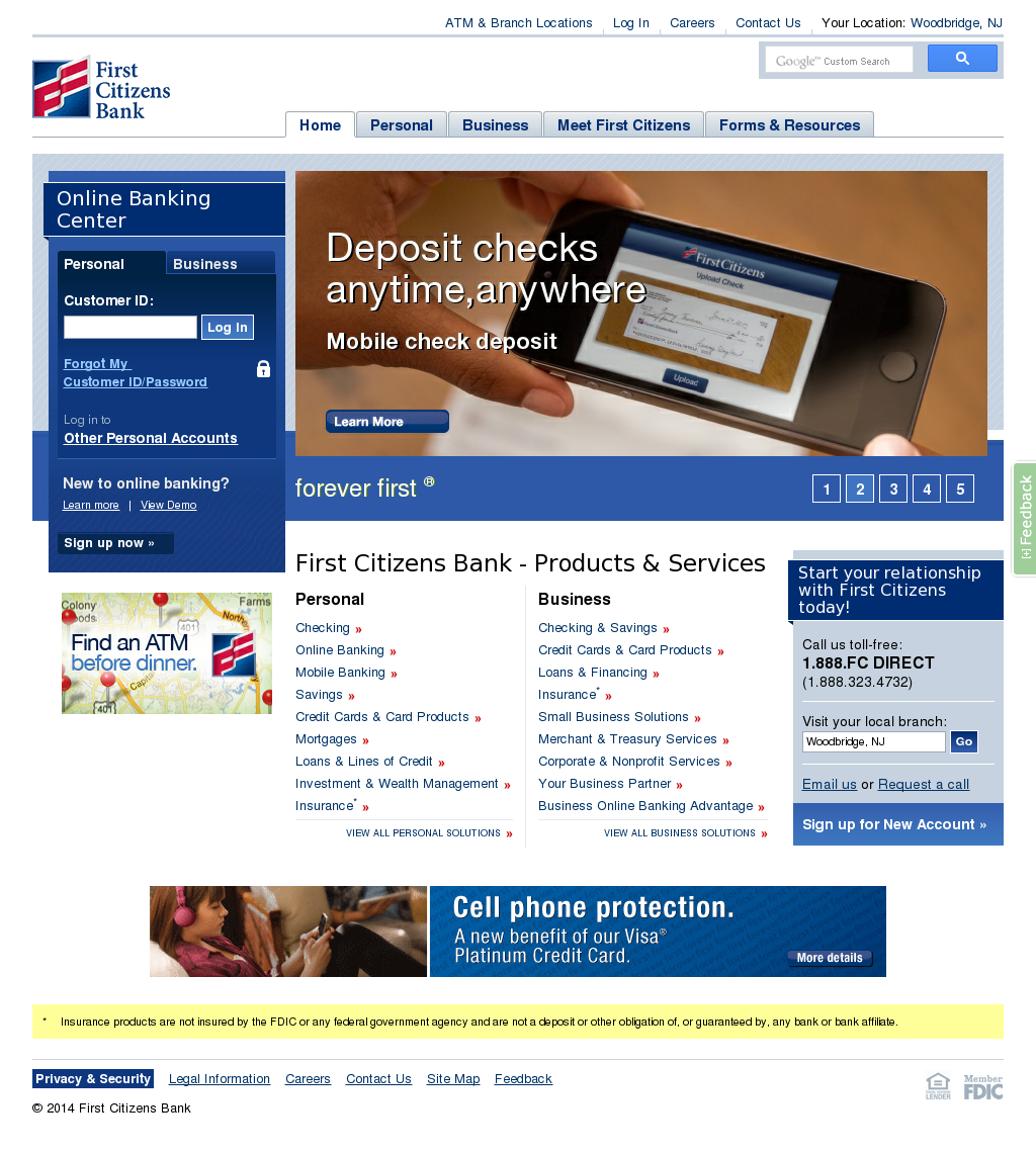 First Citizens Bank Competitors, Revenue and Employees