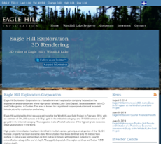 Eagle Hill Exploration website history