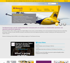 Monarch Holdings website history
