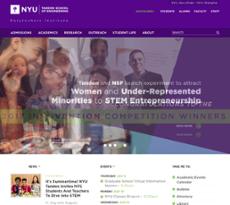 NYU Poly website history