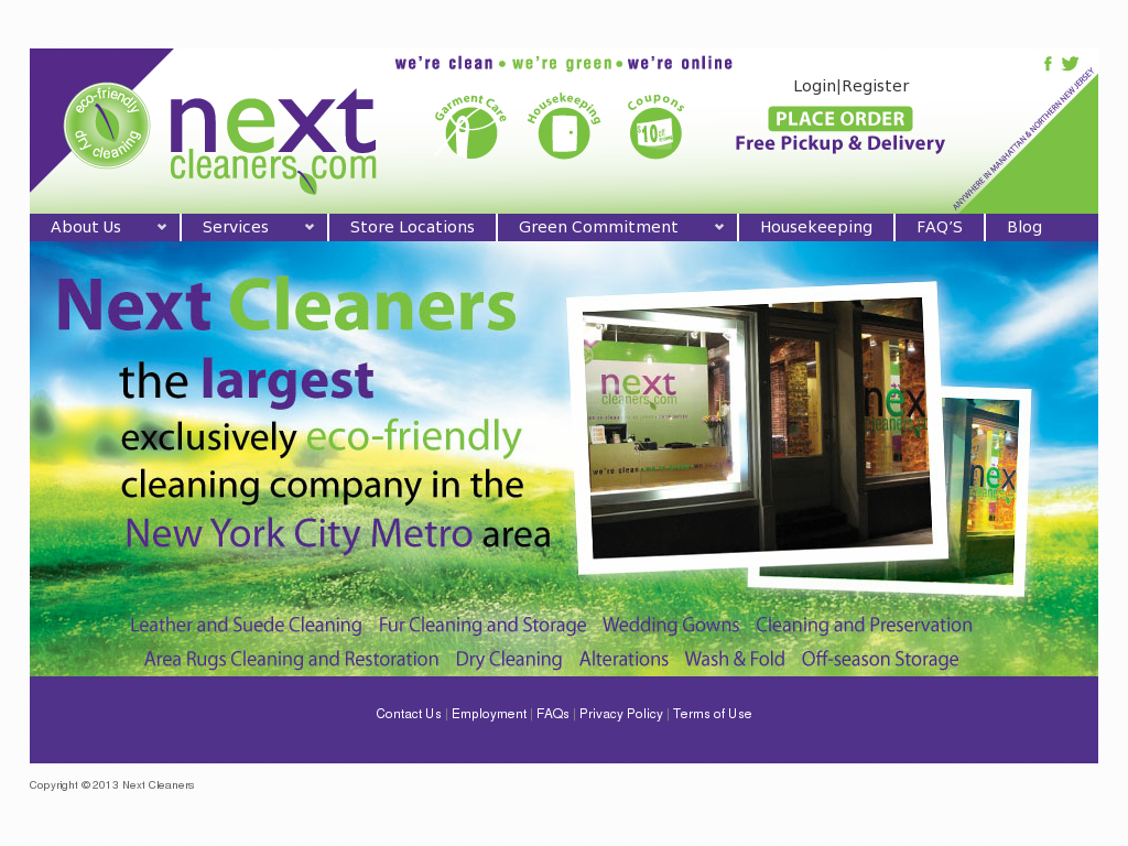 Next Cleaners Compeors Revenue And