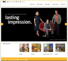 Miller Zell website history