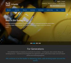 McWane website history