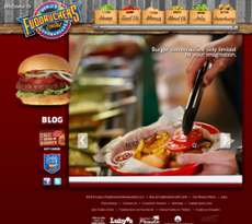 Fuddruckers website history