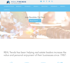 REAL Trends website history