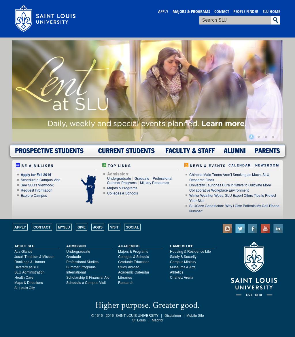 Saint Louis University Competitors, Revenue and Employees