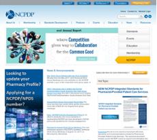 NCPDP website history