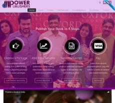 Power Publishers website history