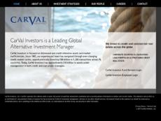 CarVal Investors website history