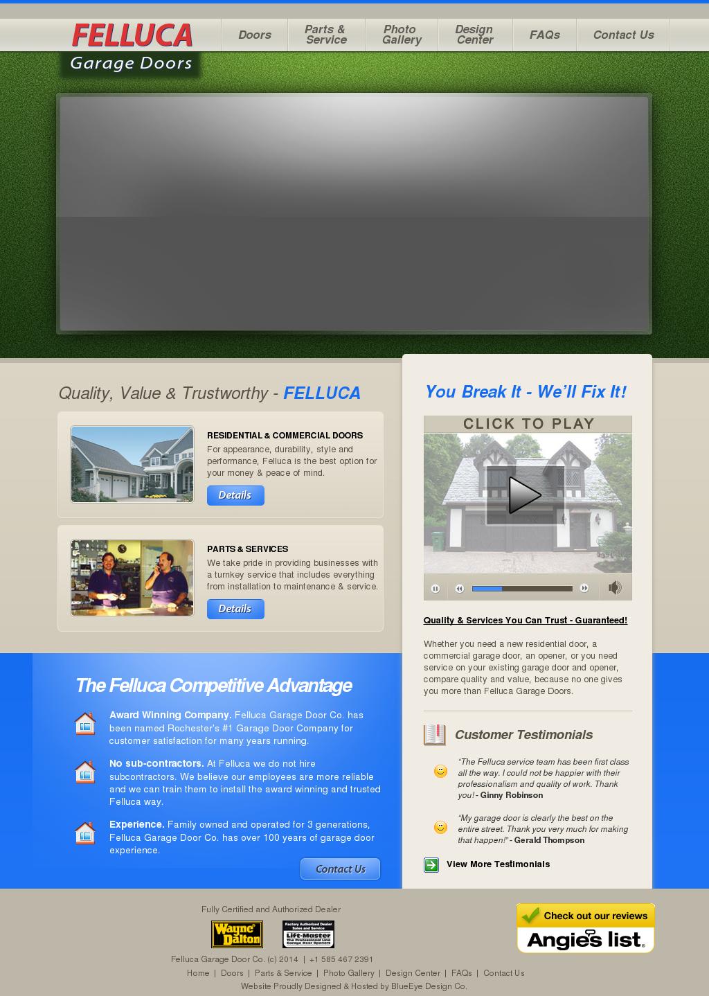 Felluca Garage Doors Competitors Revenue And Employees Owler