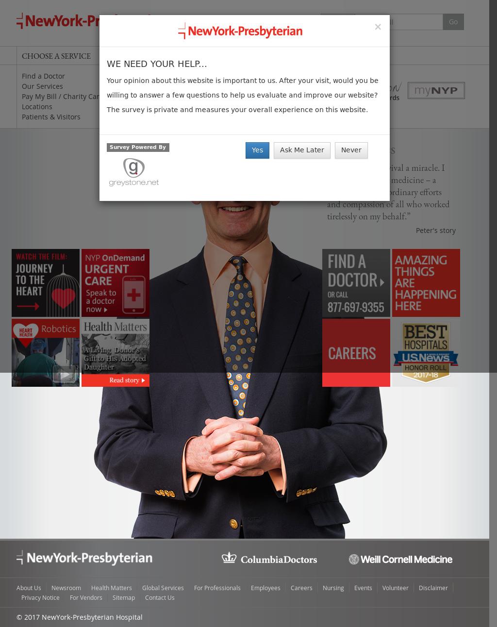 NewYork-Presbyterian Competitors, Revenue and Employees
