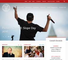 Cornell University website history