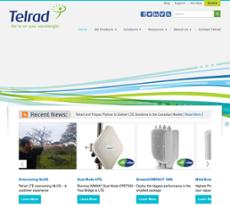 Telrad Networks website history