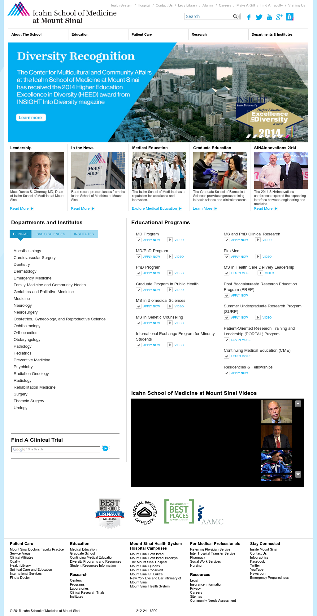 Mount Sinai Competitors, Revenue and Employees - Owler