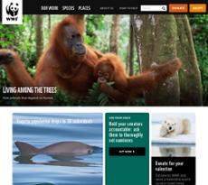 WWF website history