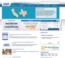 U.S. Census Bureau website history