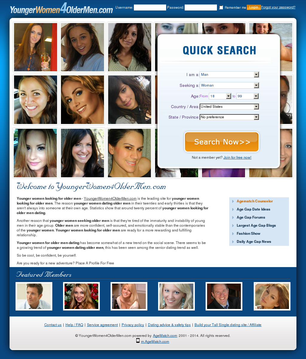 Agematch login