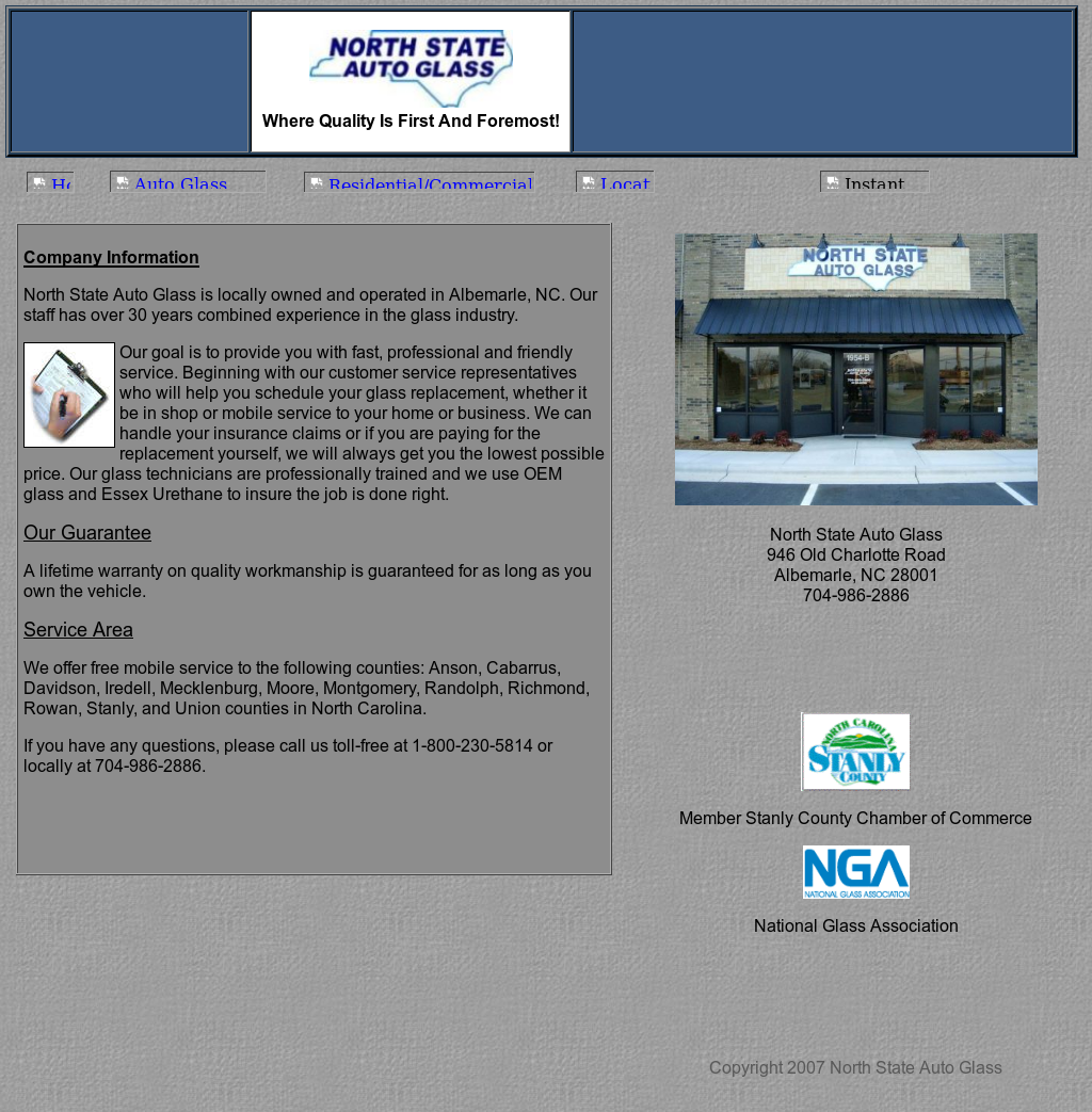 North State Auto >> North State Auto Glass Competitors Revenue And Employees
