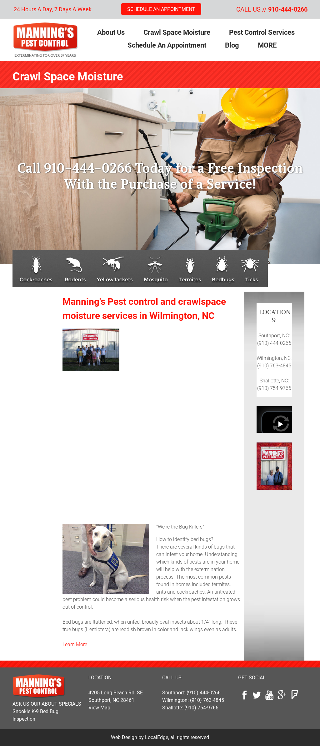 Manning S Pest Control Compeors Revenue And Employees Owler Company Profile