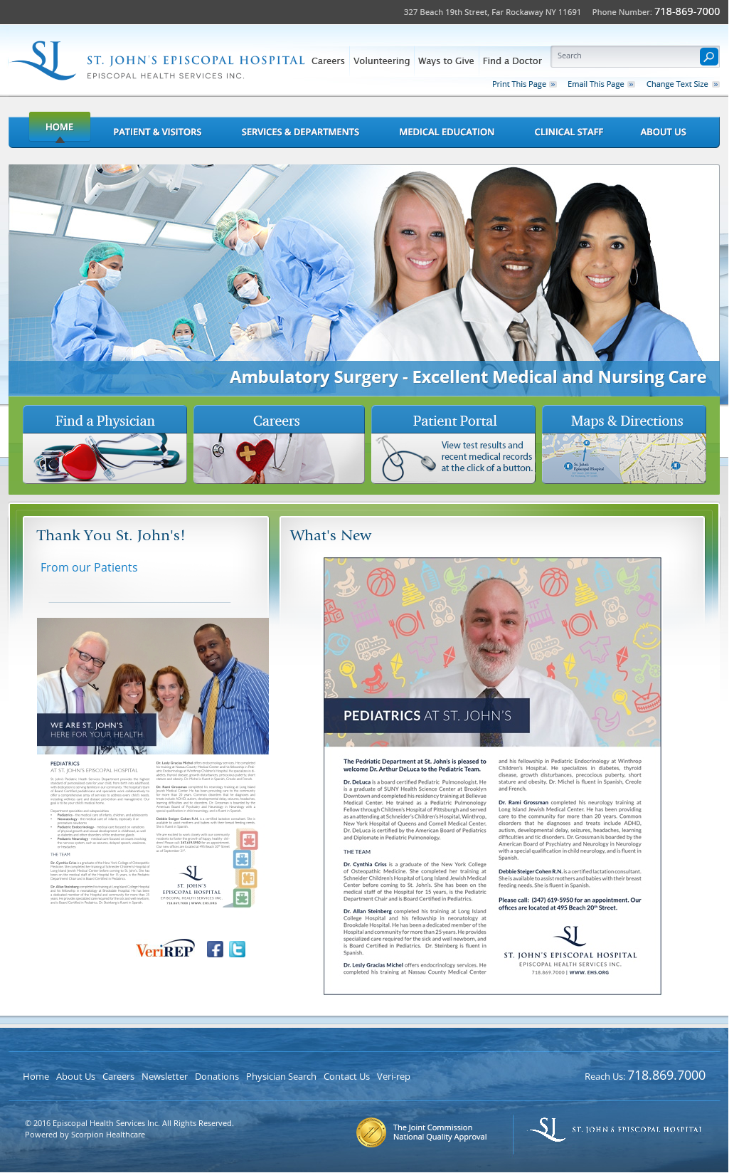 Episcopal Health Services Competitors, Revenue and Employees