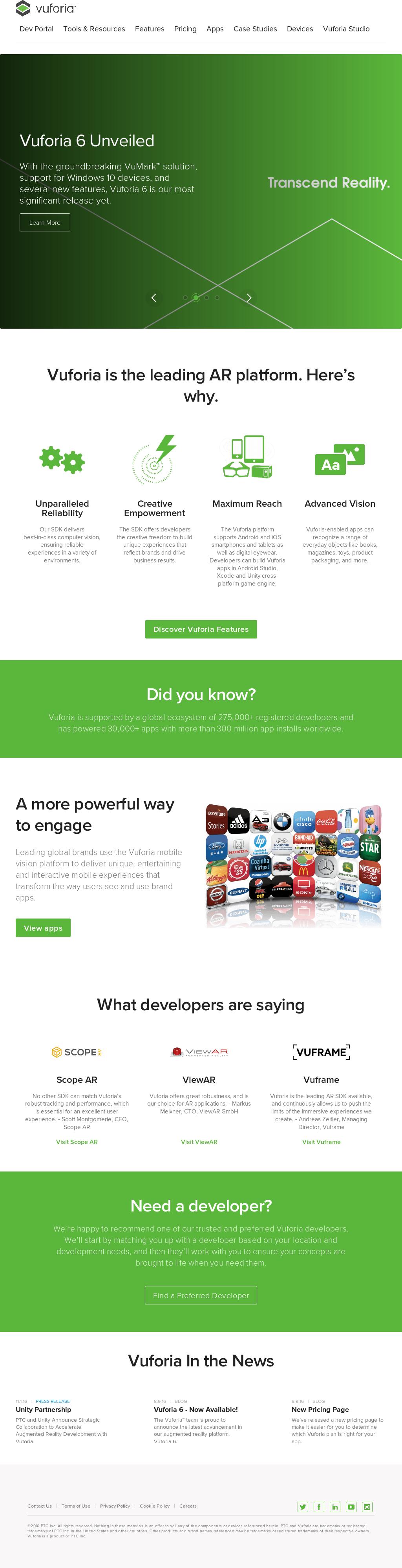 Vuforia Competitors, Revenue and Employees - Owler Company