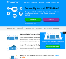Connectify website history