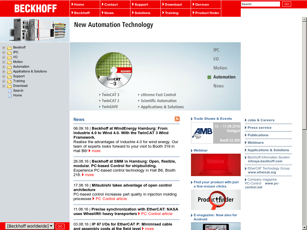 Beckhoff Automation Competitors, Revenue and Employees - Owler
