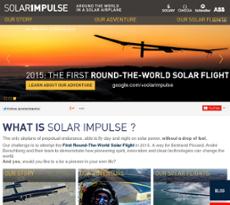 Solar Impulse website history
