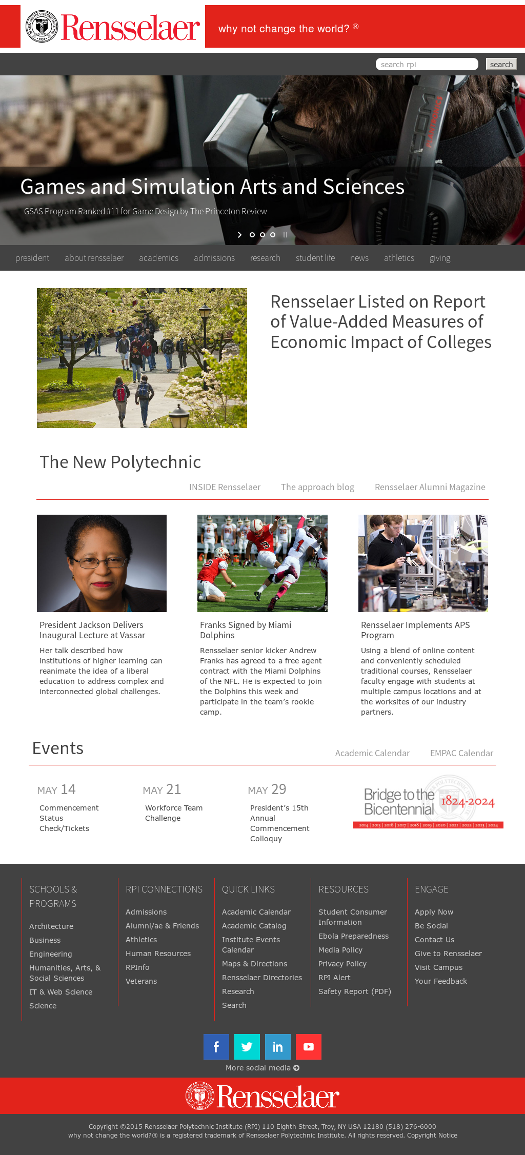 Rpi Academic Calendar 2022 2023.Rensselaer Polytechnic Institute S Competitors Revenue Number Of Employees Funding Acquisitions News Owler Company Profile
