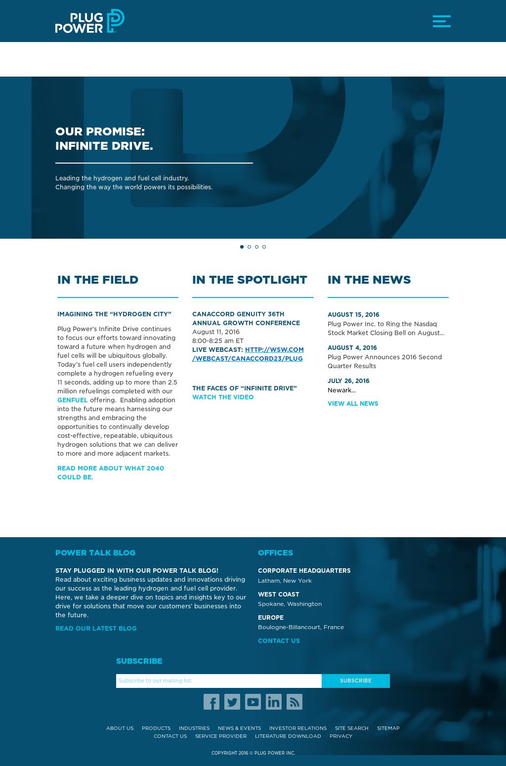 Plug Stock News >> Plug Power Competitors Revenue And Employees Owler Company Profile