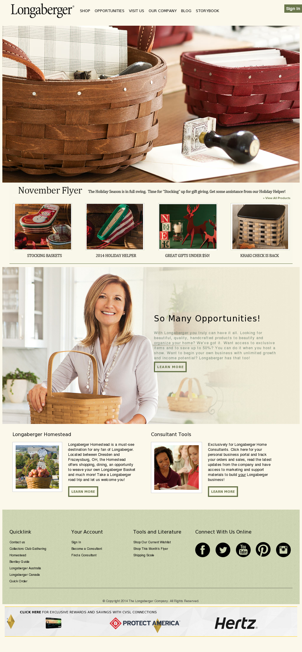 Longaberger Competitors, Revenue and Employees - Owler Company Profile