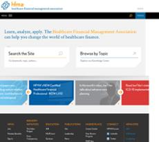 HFMA website history