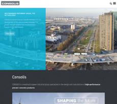 Consolis website history