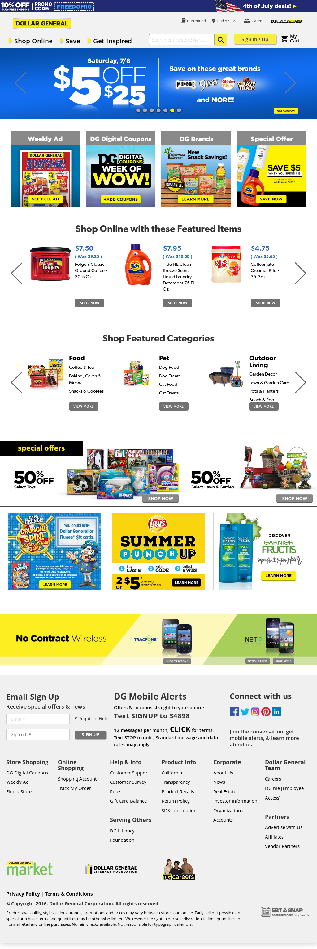 Dollar General Competitors, Revenue and Employees - Owler Company ...