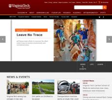 Virginia Tech website history