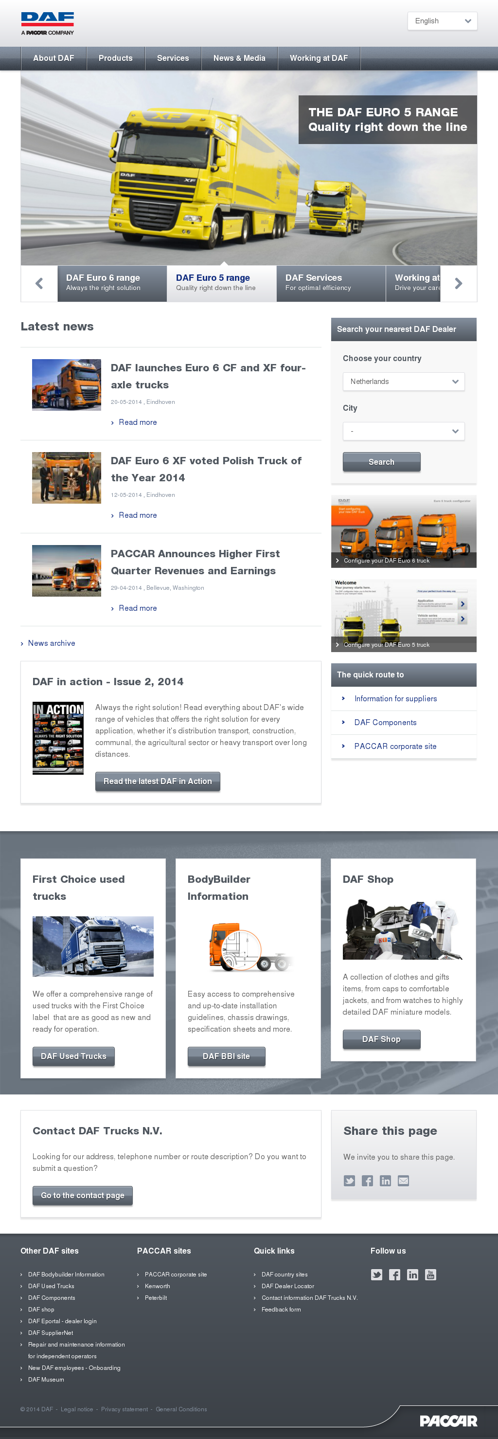 Daf Competitors Revenue And Employees Owler Company Profile