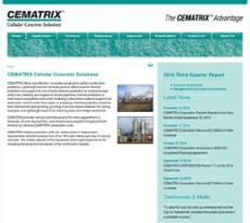 CEMATRIX website history