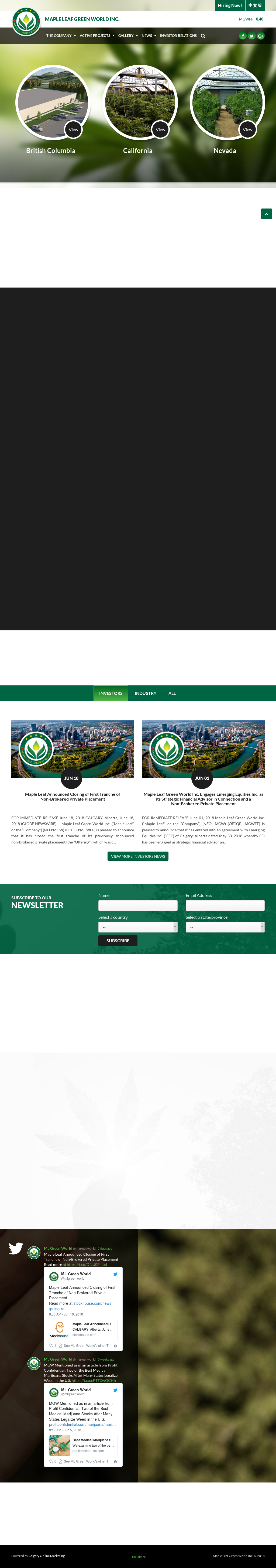 Mlgreenworld Competitors Revenue And Employees Owler Company Profile