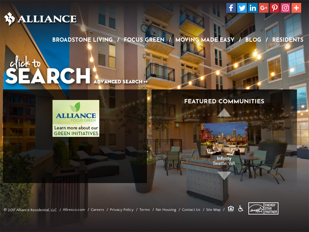 Allresco alliance residential competitors, revenue and employees