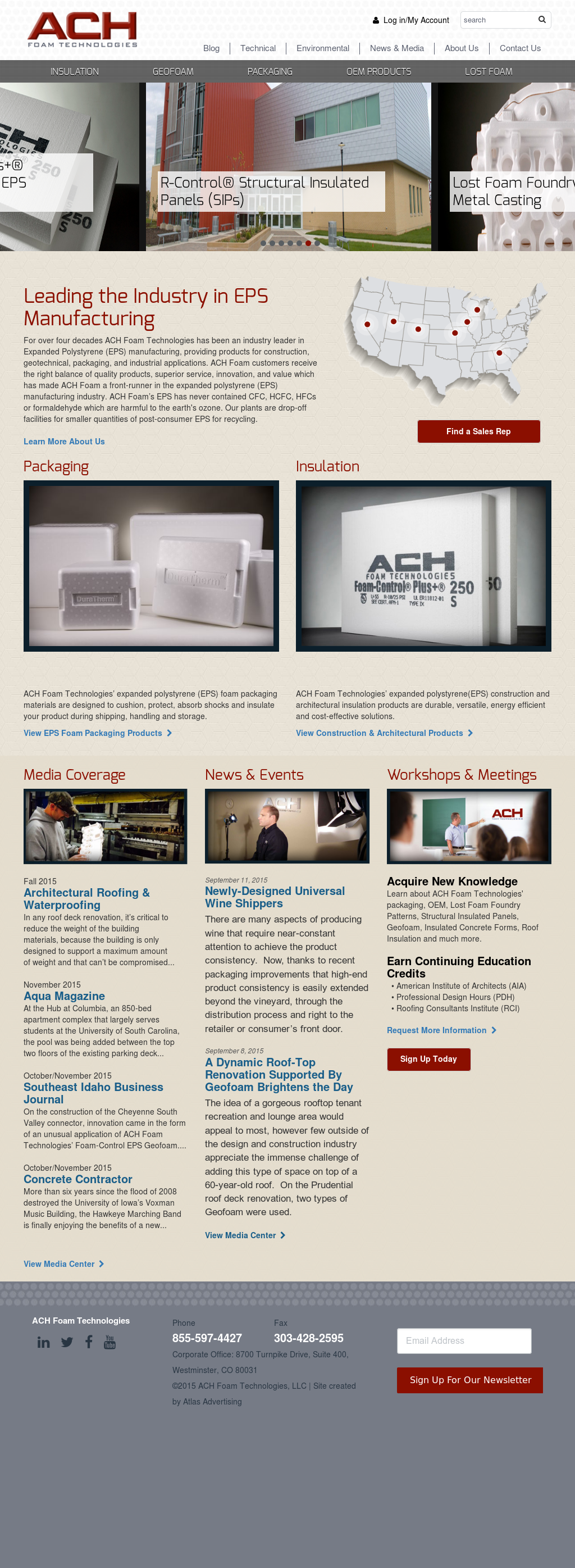 ACH Foam Technologies Competitors, Revenue and Employees - Owler ...
