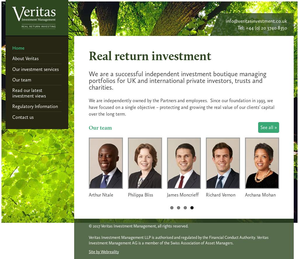 Veritas Investment Management Competitors, Revenue and Employees