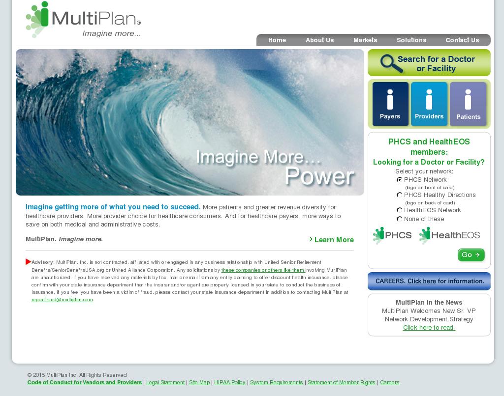 Multiplan Company Profile | Owler Multiplan