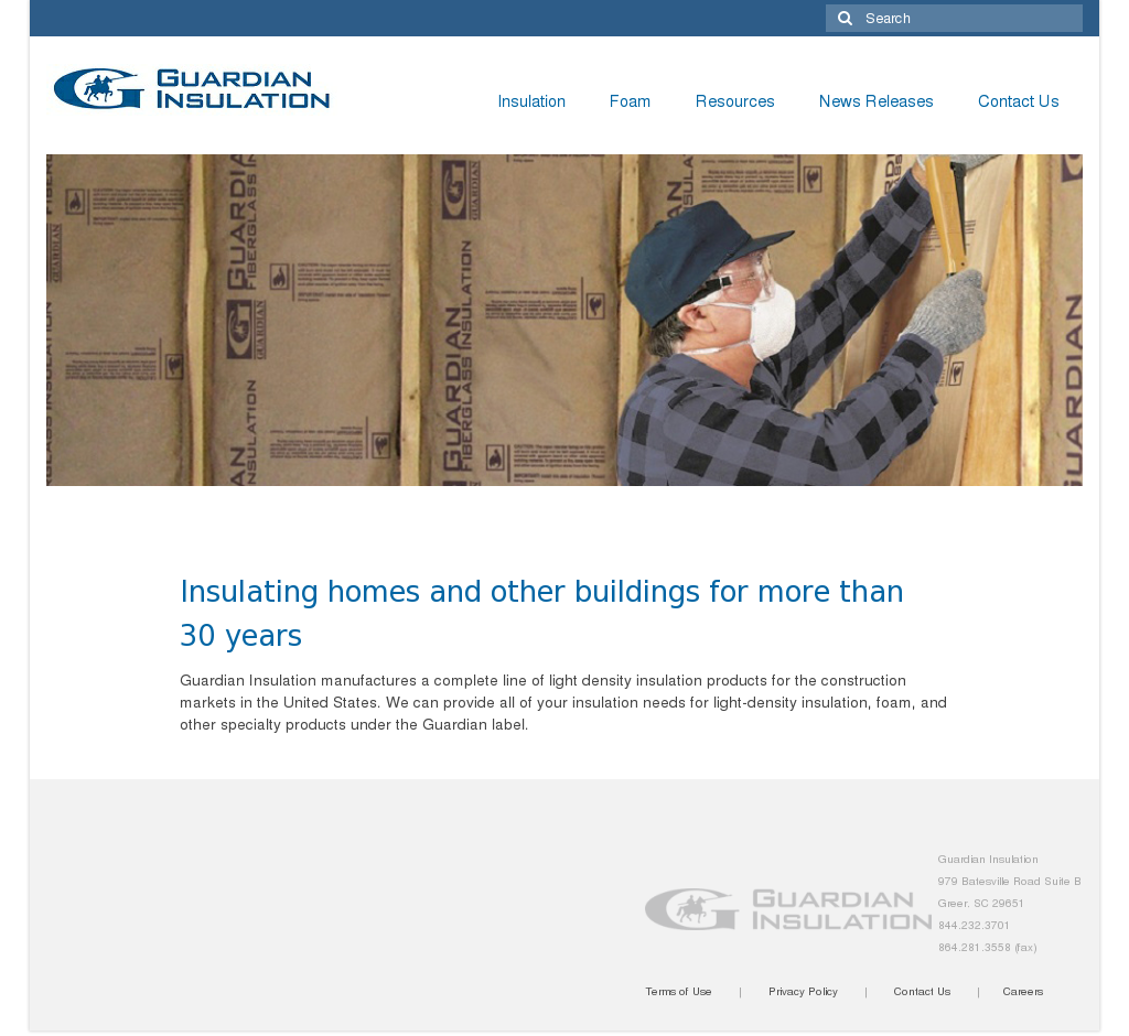 Guardian Insulation Competitors, Revenue and Employees