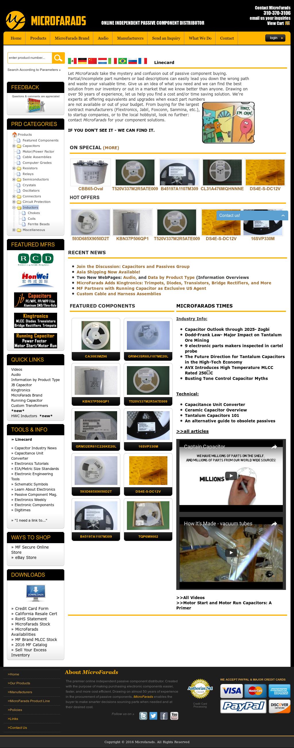 Microfarads Competitors Revenue And Employees Owler Company Profile