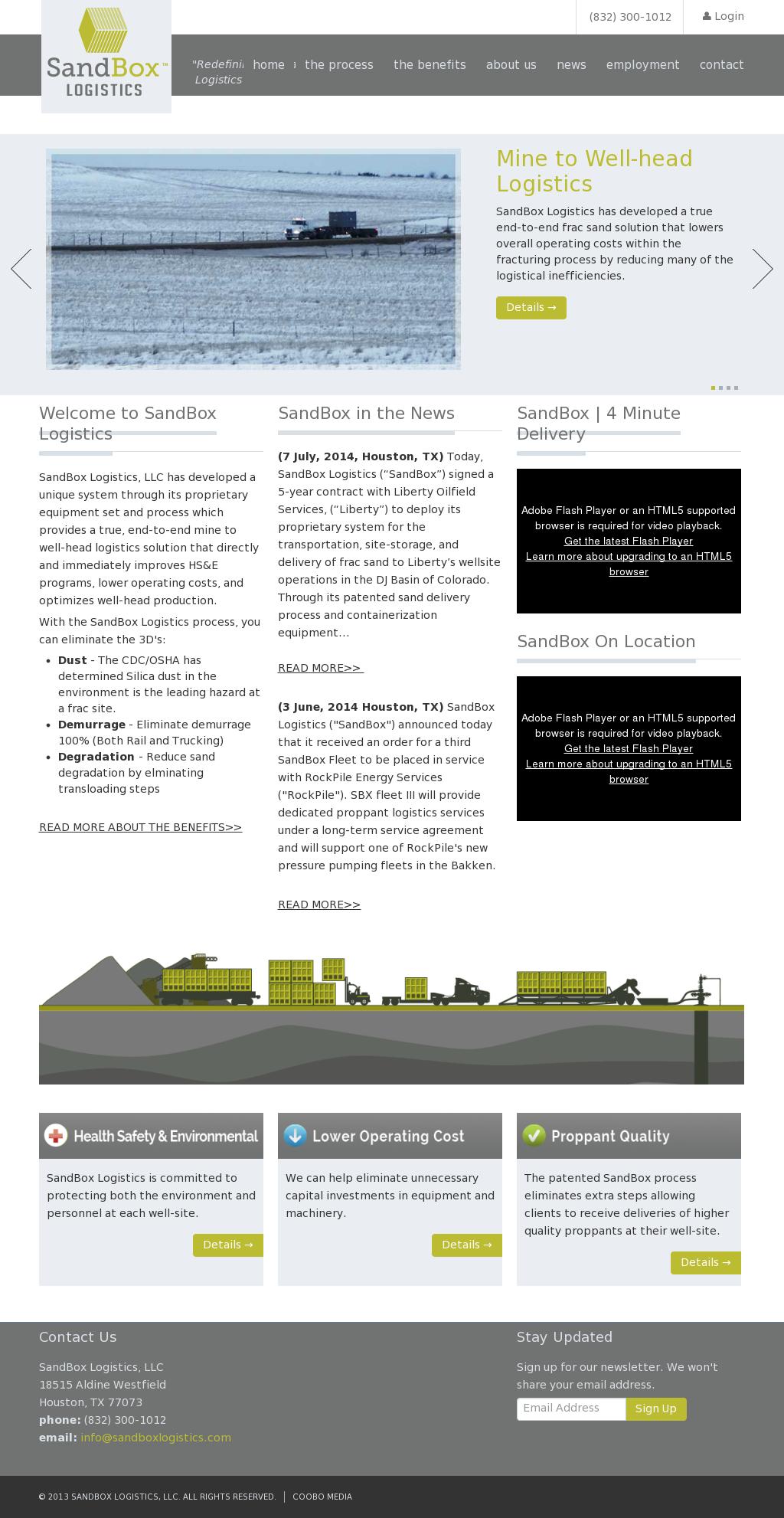 SandBox Logistics Competitors, Revenue and Employees - Owler